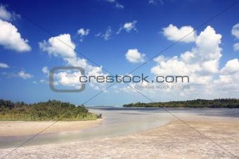 Beach at Marco Island