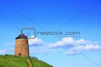 Old, beautiful windmill