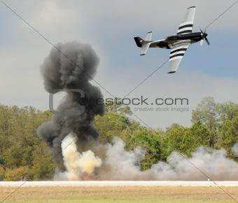 Aerial battle