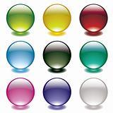 bubble glow circle