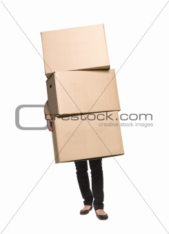 Carrying boxes