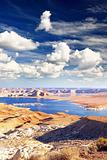 Lake Powell in Page Arizona