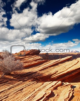 rock formations at glen canyon