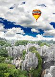 Rock forest near Kunming city