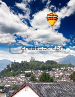 A historical town Lijiang China