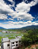 scenery landscape near Lijiang City