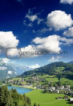 a small swiss village