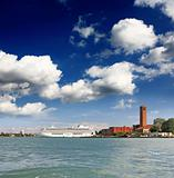 The islands in Venice