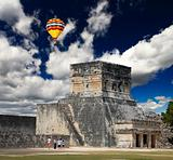 The stadium near chichen itza temple