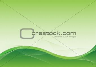 green abstract background design
