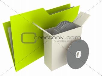 saving folder