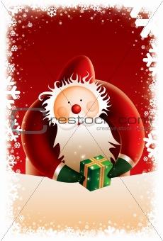 Poster - New Year Santa