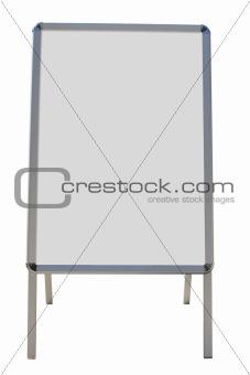 blank billboard for advertising
