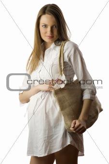 pregnant go for shopping