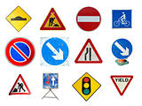 Range of traffic signs