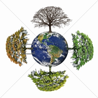 Four Seasons of Planet  Earth