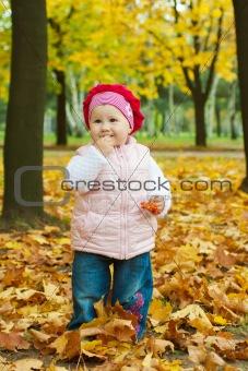 Toddler tasting ashberry