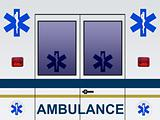 Ambulance car illustration