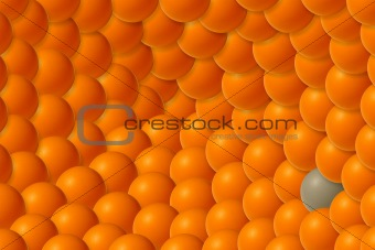 Abstract conceptual balls texture