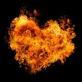 fiery heart