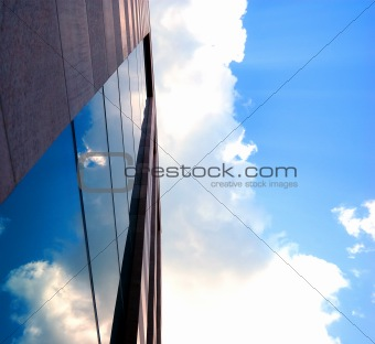 Sky reflections
