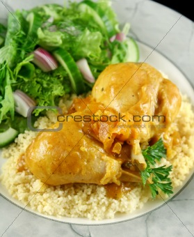 Apricot Chicken Drumsticks