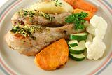 Chicken Drumsticks And Vegetables 4