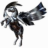 Silver Winged Horse