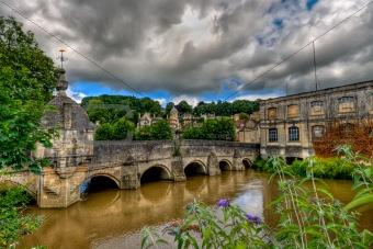 Bridge over the river Avon, Bradford-on-Avon