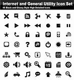 Web Utility Icon Set
