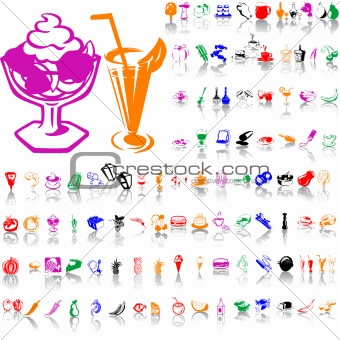 Food clipart. Part 4.
