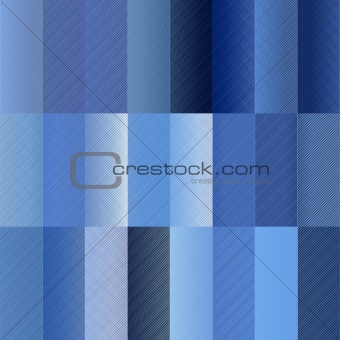 blue rectangle pattern