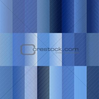 blue rectangle pattern