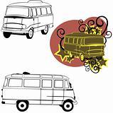 car bus model