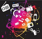 electronic gadget illustration