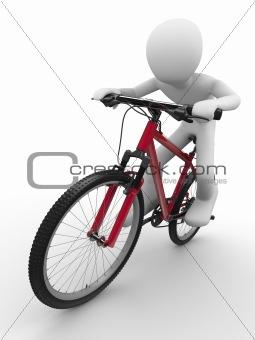 Ride that bike concept