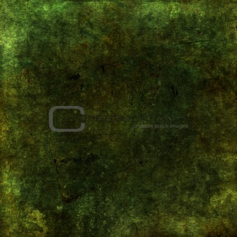 Green earthy grunge scrapbook background with texture