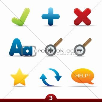 Icon series - web universal