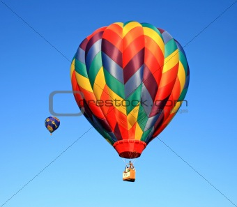 A balloon festival in New Jersey
