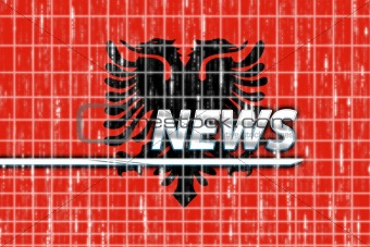 Flag of Albania,  news