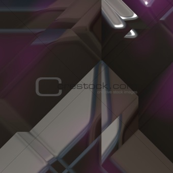 Angled geometric abstract