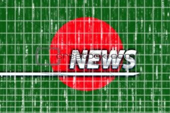 Flag of Bangladesh news