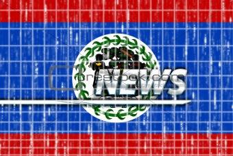 Flag of Belize news