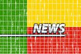 Flag of Benin news
