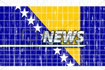 Flag of Bosnia Hertzigovina news