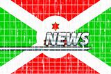 Flag of Burundi news
