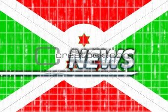 Flag of Burundi news
