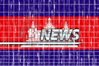 Cambodia flag news