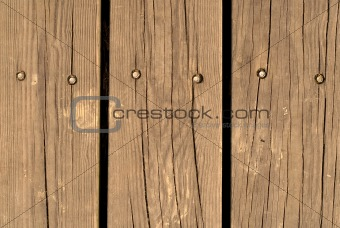 old and brown wood wall