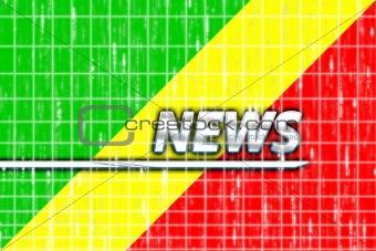 Flag of Congo news